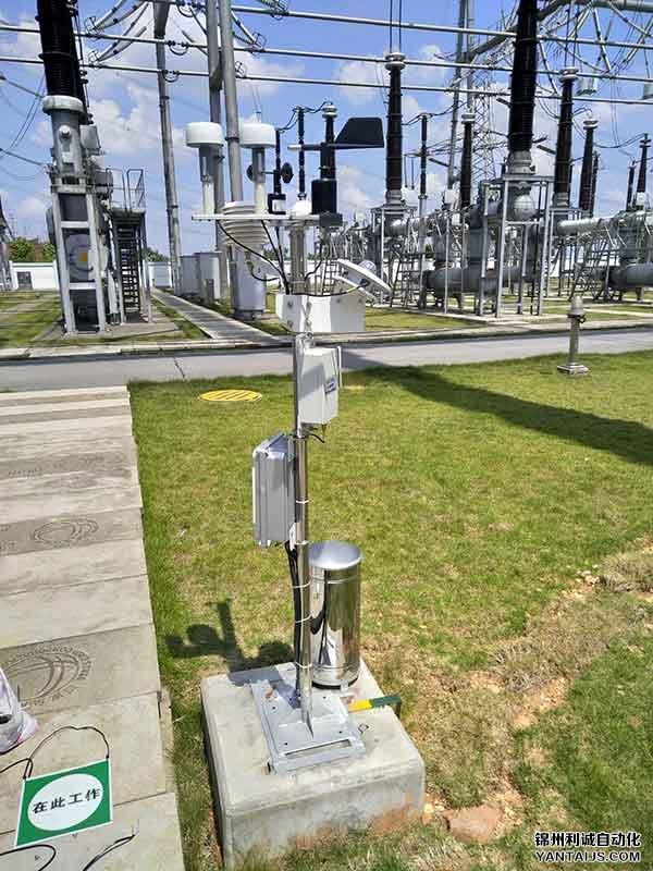 发电站-太阳能气象站