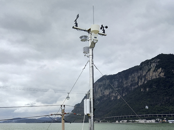 重庆 超声波自动气象站采集