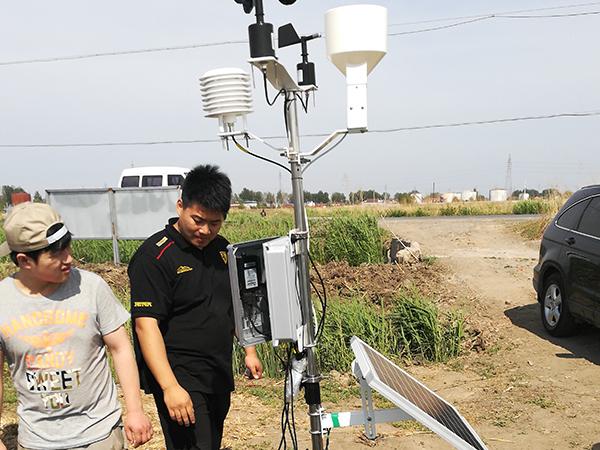 重庆 超声波五参数微型气象站组成部分
