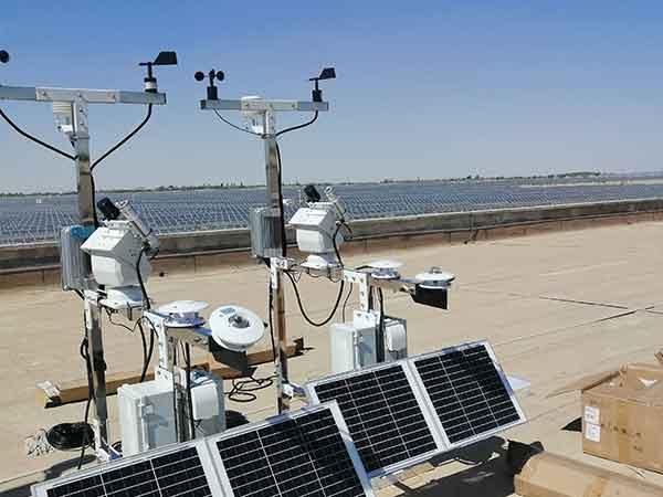 光伏环境监测仪含气象站组成部分